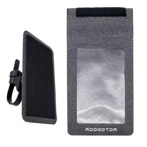 Addmotor 2019 Latest Fashion Waterproof Electric Bicycle Phone Bag and Stand
